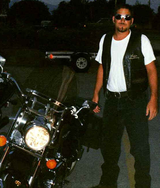 Rob beside his cruiser bike!